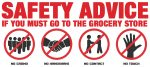 Safety Advice if you Must Visit the Grocery Store