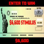 $6,600 Stimulus