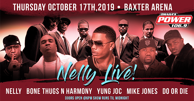 Nelly at Baxter Arena