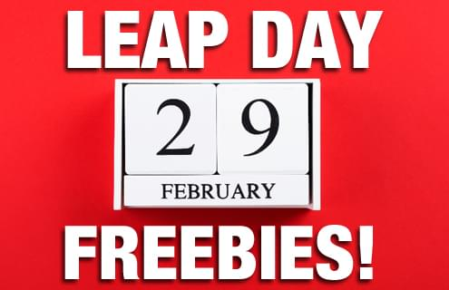 Leap Day Freebies!