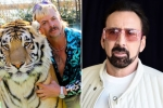 Nicolas Cage Will Play Joe Exotic in a New 'Tiger King' Scripted Series