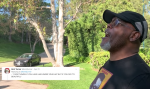 Samuel L. Jackson Yells Compliments at Neighbors