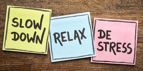 How Do You De-stress?