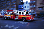 Man Steals Fire Truck and Drives to a Bar with Lights On