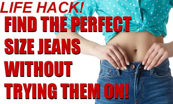 HACK: How to Find the Perfect Jeans Without Having to Try Them On!