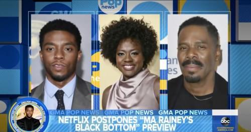 Chadwick Boseman's Final Movie Is Coming to Netflix Soon