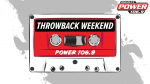 Power 106.9's Labor Day Throwback Weekend!