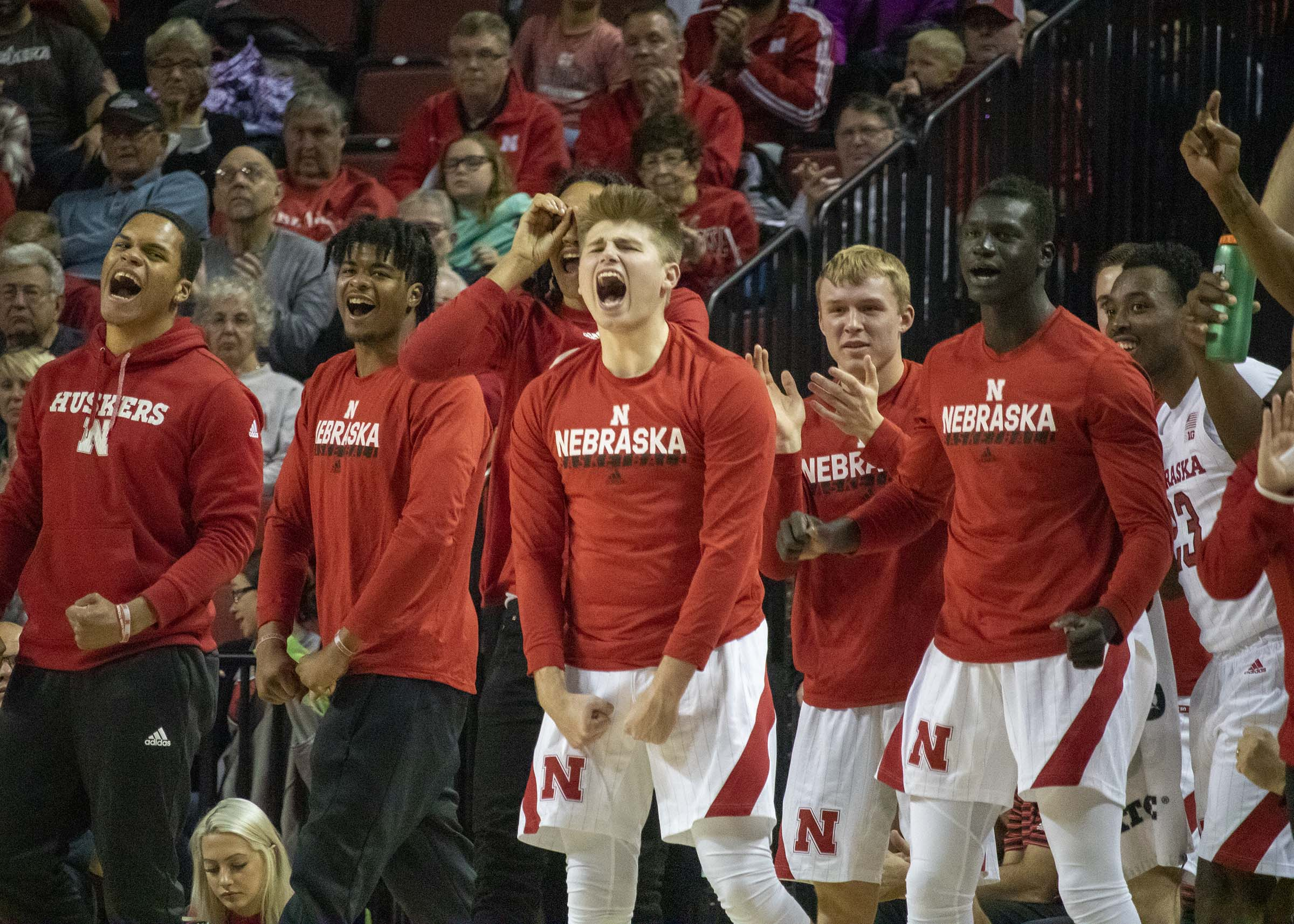 Husker Men Win Exhibition Against Doane 91-63