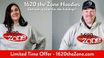 1620 the Zone Hoodies