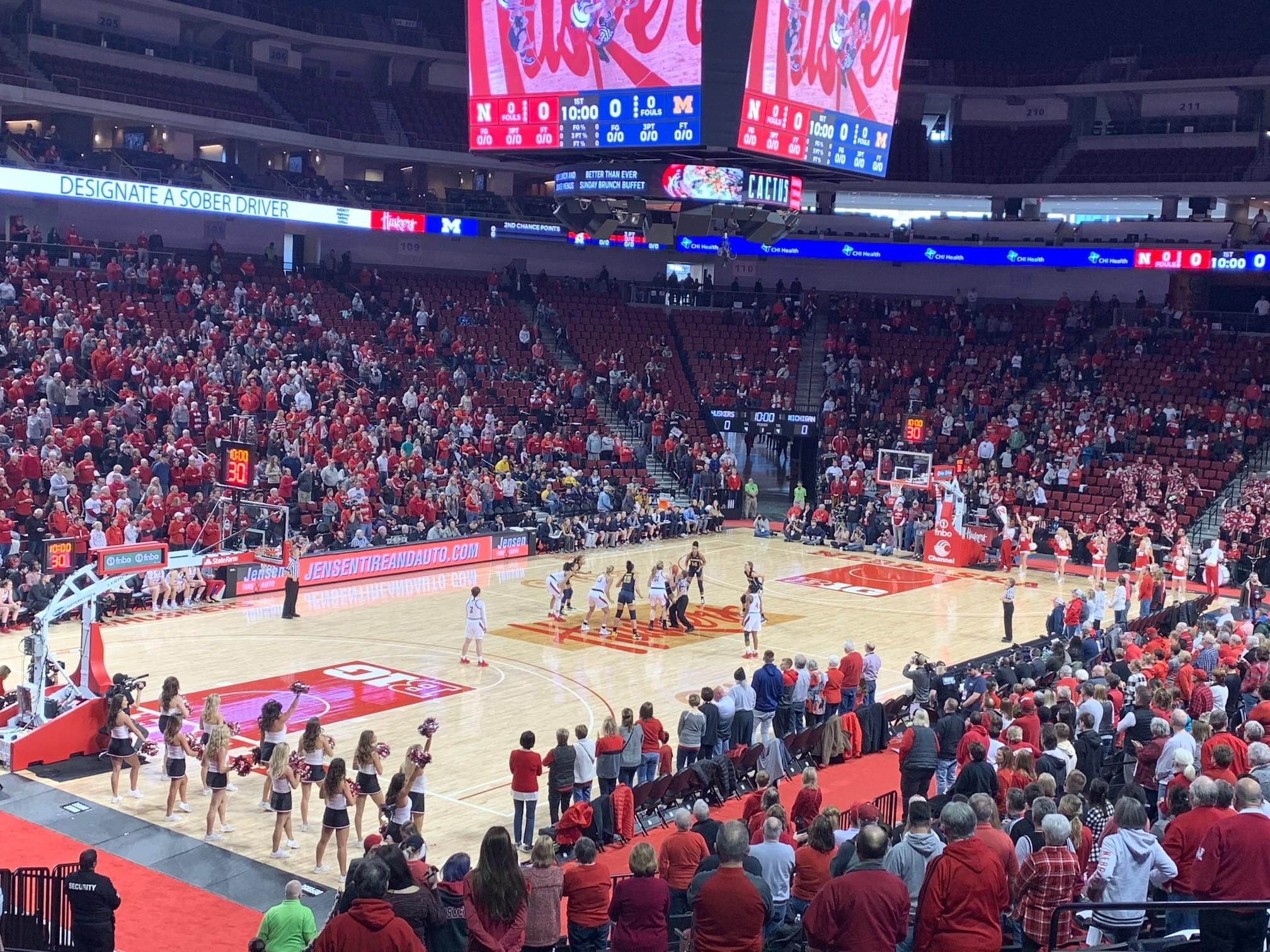 Huskers Come Back, Hold Off Wolverines