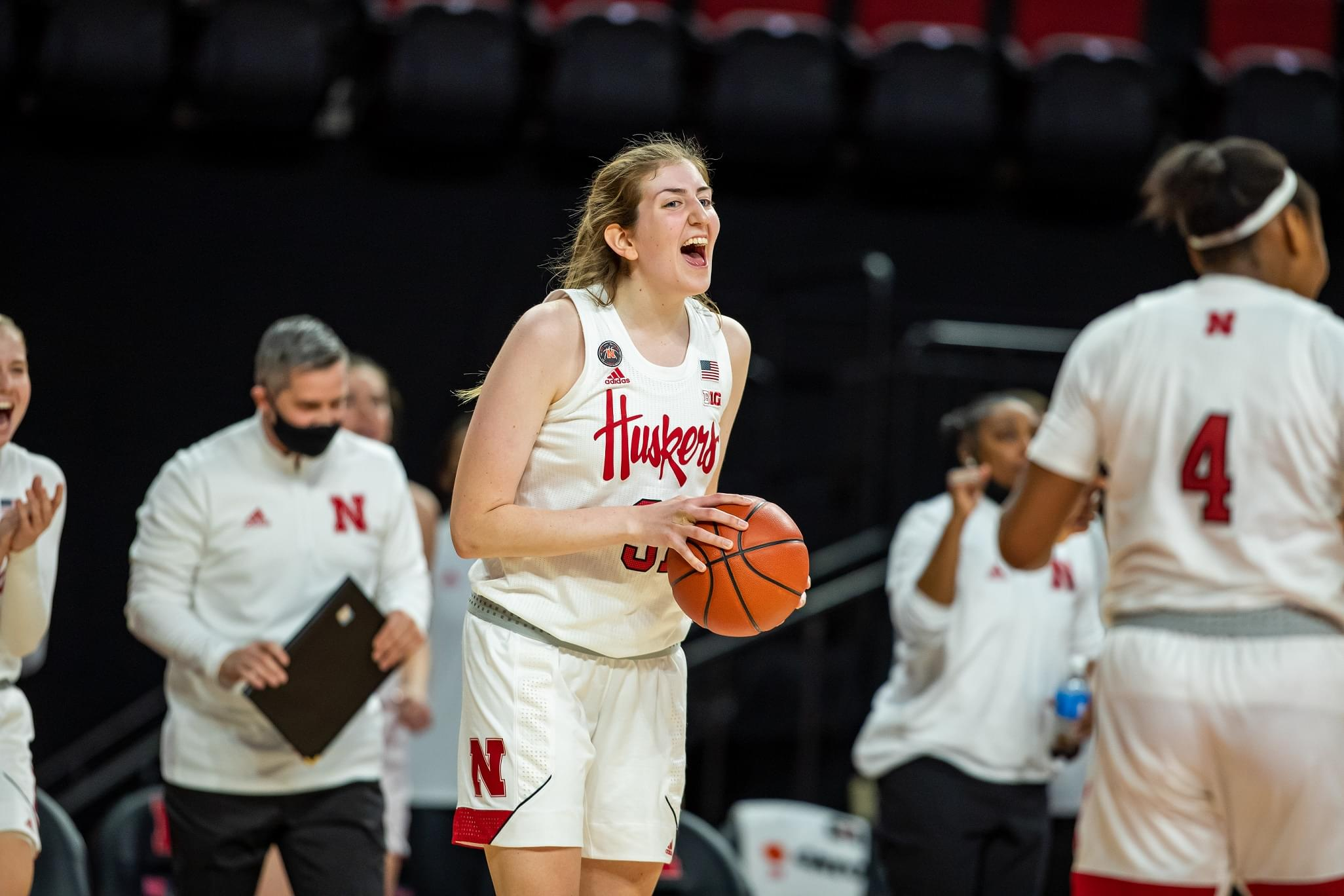 Shorthanded Huskers hand No. 15 Ohio State first loss of season