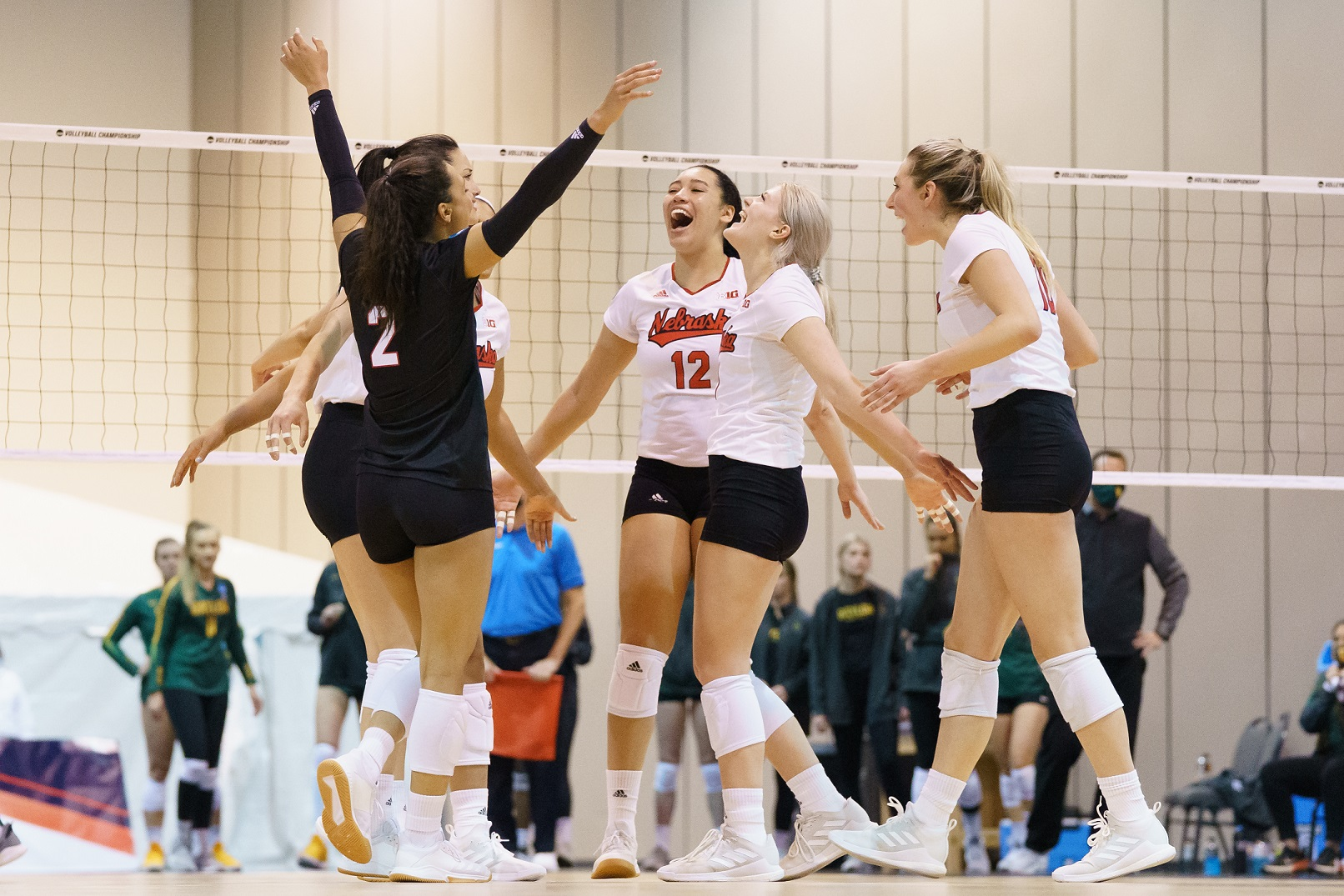 No. 5 Nebraska advances to Regional Finals after sweep of No. 12 Baylor