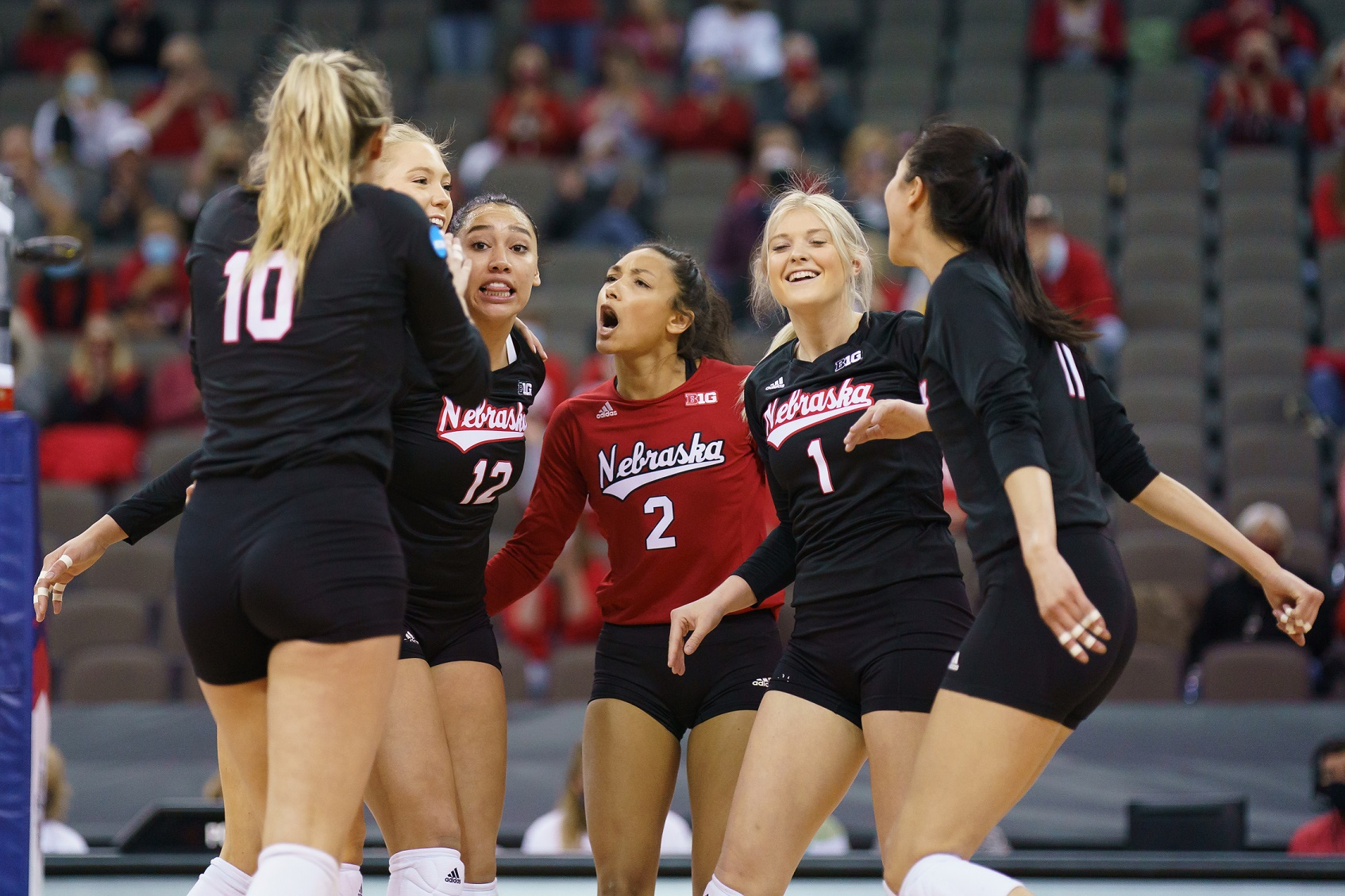 Three Huskers Named AVCA All-Americans