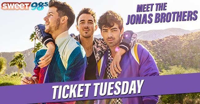 Jonas Brothers Ticket Tuesday
