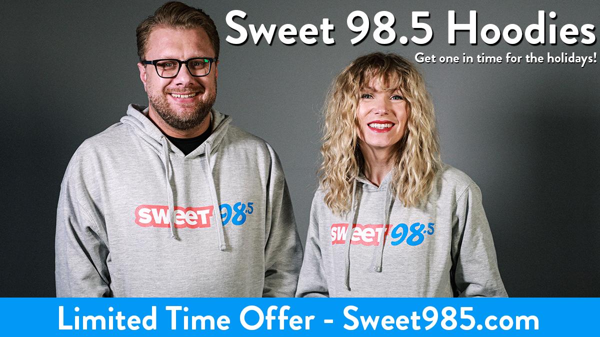 Sweet 98.5 Hoodies