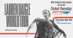 Lauren Daigle Ticket Tuesday