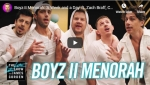 Boys II Menorah