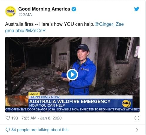 Social Media has played a big part in how people are helping with donations, drives, and easy ways for you to immediately help people in Australia.