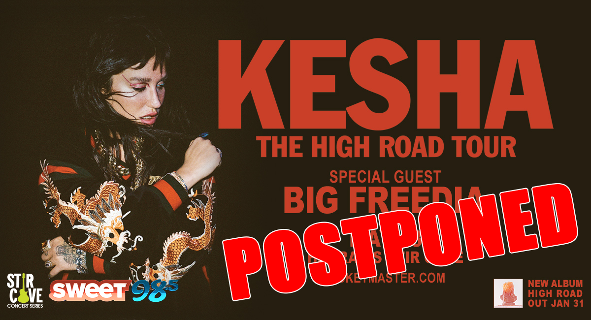 KeshaPostponed