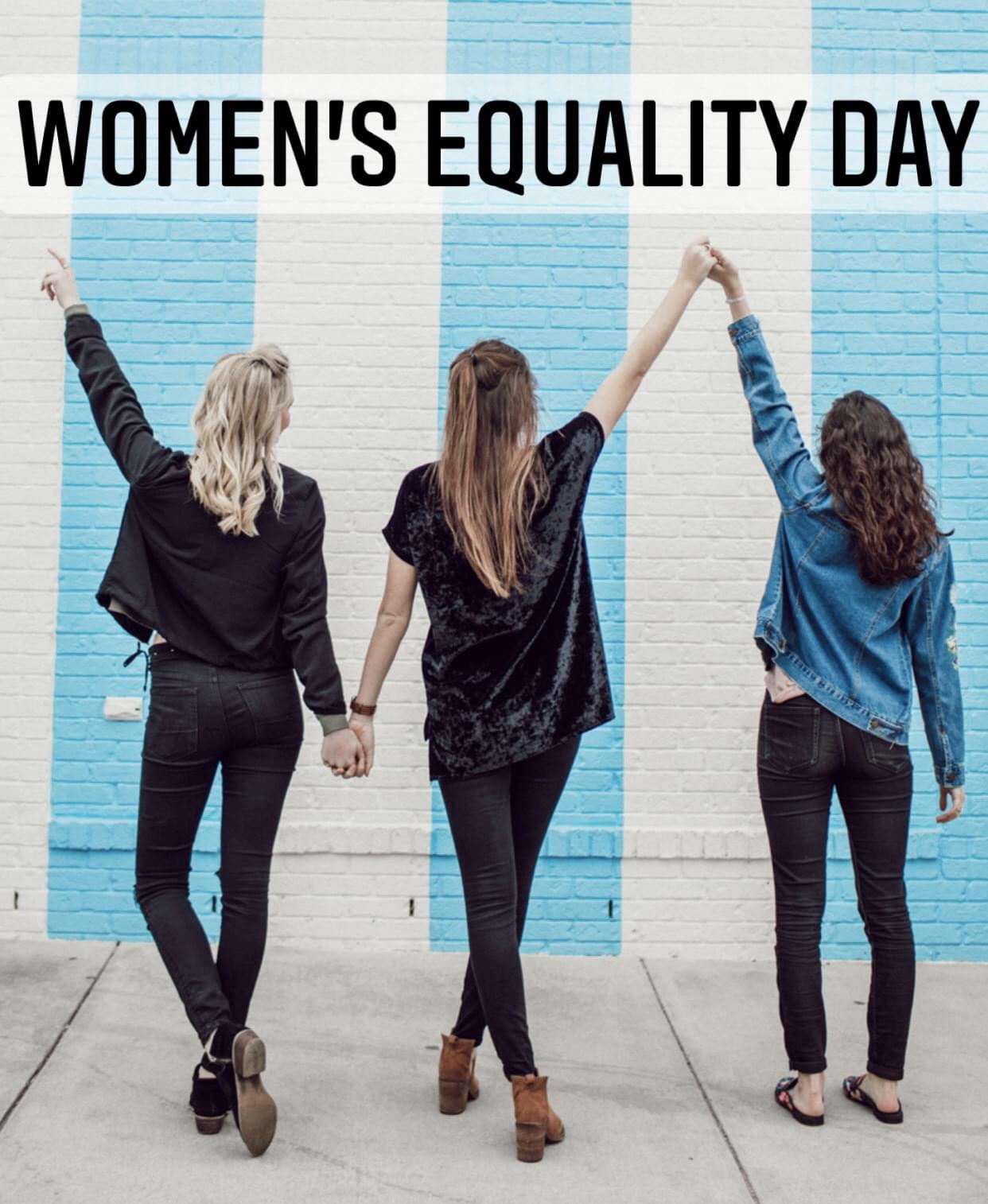 Today is Women's Equality Day