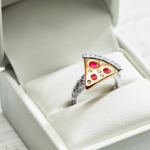 A Pizza Engagement Ring!