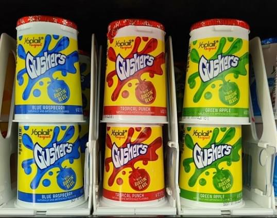 Gushers Yogurt