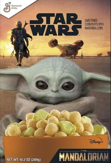 Baby Yoda Cereal Coming Soon