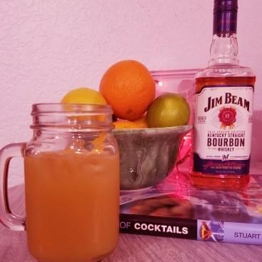Quarantinis With Tonya: Bourbon Maple Fizz