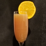 Quarantinis With Tonya: Orange Cranberry Mimosa