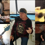 "Jack Russell's Great White Rocks Acoustic Version Of ""Fast Road"""