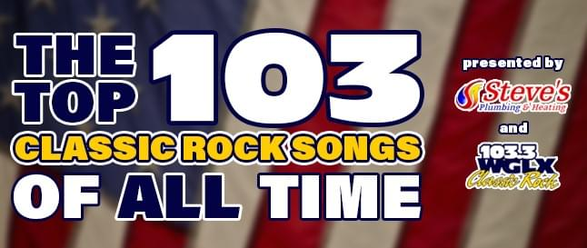 The WGLX Top 103 Classic Rock Songs of All Time- What Were We Thinking?!?