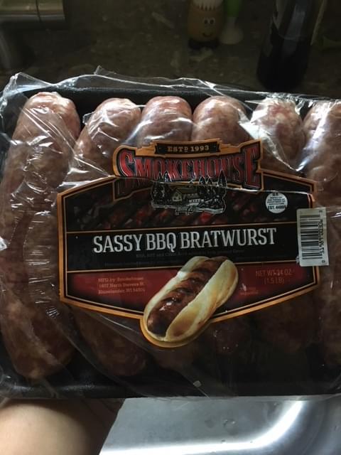 Sassy BBQ Brats