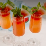 Watermelon Mimosas Are Your Go To Brunch Drinks This Summer