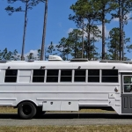 Forget The RV and Camper Get Yourself An Old School Bus