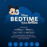 Disney's Bedtime Hotline Is Here To Help Parents Get Kids To Sleep