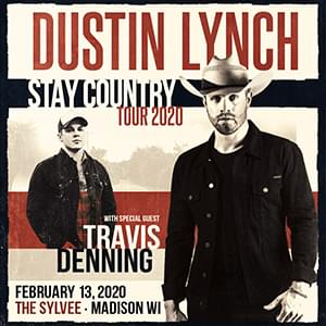 Dustin Lynch: Stay Country Tour 2020