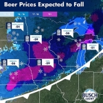 The More It Snows The Cheaper Busch Beer Will Be