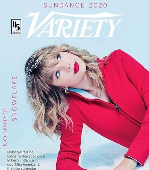 Taylor Swift Variety Cover Feb 2020