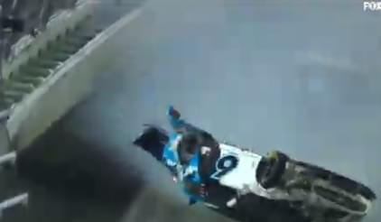 Newman Daytona Crash