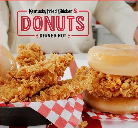 Donuts And Chicken… Yes Please