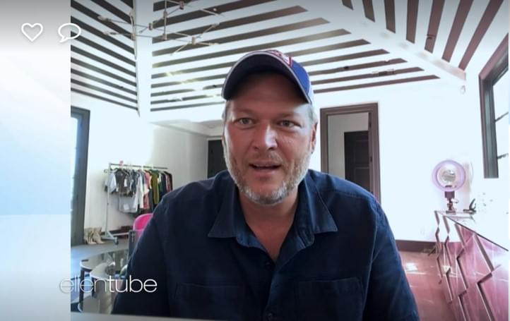 Blake Shelton Talks About Life In Quarantine