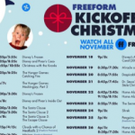 Freeform Kickoff To Christmas Event Is Coming