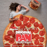Weighted Blanket For The Pizza Lover In Your Life