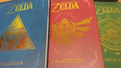 Zelda Books