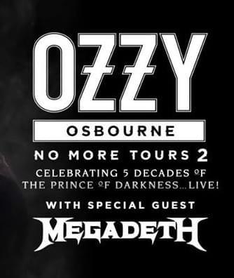 Ozzy Osbourne & Megadeth Rock Des Moines Next June!