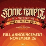 Former Rock On The Range Festival 'Sonic Temple' Announcing Lineup November 26th