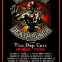 Five Finger Death Punch, Three Days Grace, Bad Wolves @ Wells Fargo Arena