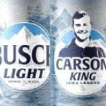 "Busch Creates a Can for ""Iowa Legend"" Carson King"