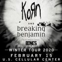 Korn & Breaking Benjamin @ US Cellular Center
