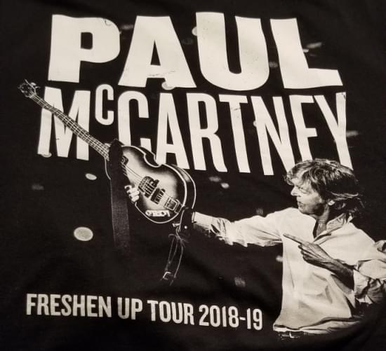 """My """"Ticket To Ride"""" to see Sir Paul McCartney"""